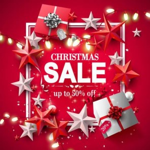 89217943-modern-christmas-sale-flyer-with-red-and-silver-gift-boxes-and-stars